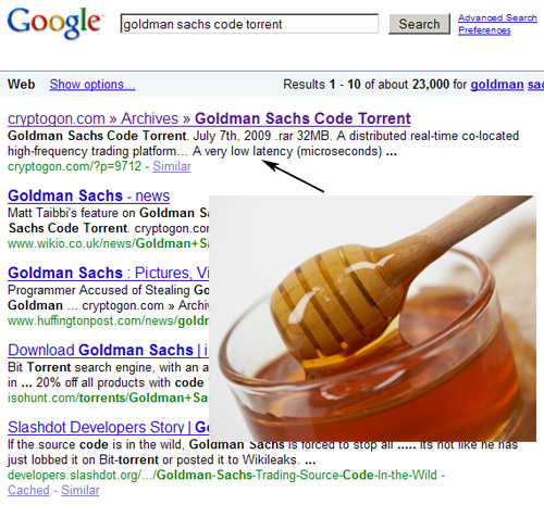 goldmansearchhoney