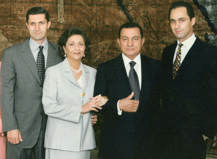 Mubarak and the Hidden Hand
