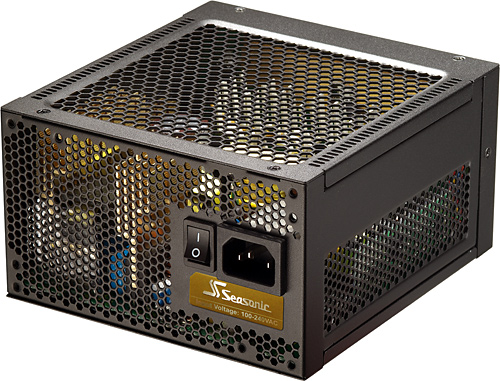 Seasonic X-Series 460 Watt Power Supply - Look Ma, no fans!